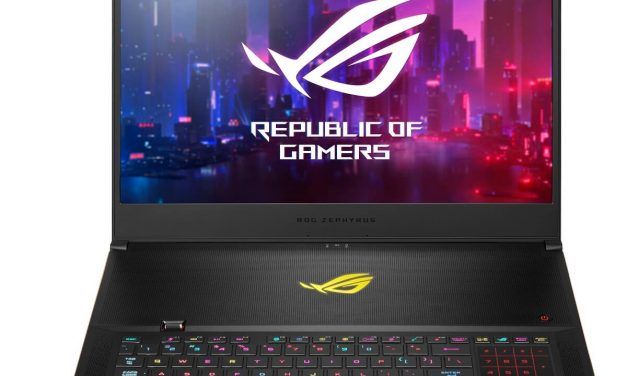 NP: ASUS Republic of Gamers presenta el Zephyrus S GX701
