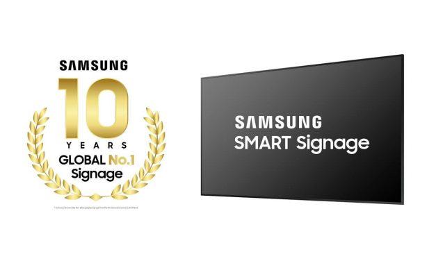 NP: Samsung cumple una década como líder mundial en señalización digital