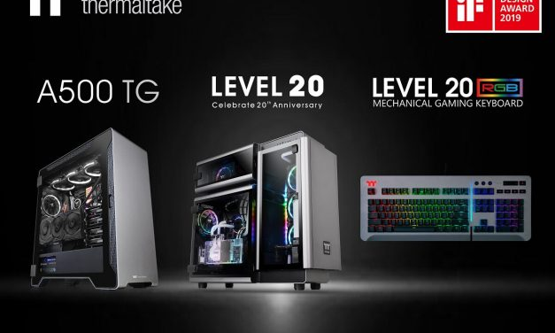 "NP: Thermaltake gana el ""2019 iF Product Design Award"""