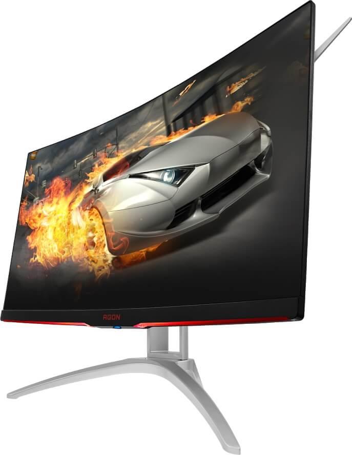 NP: El AGON AG272FCX6 de AOC, con una frecuencia de actualización de 165 Hz y una curvatura de 1800, conecta a los gamers con el juego