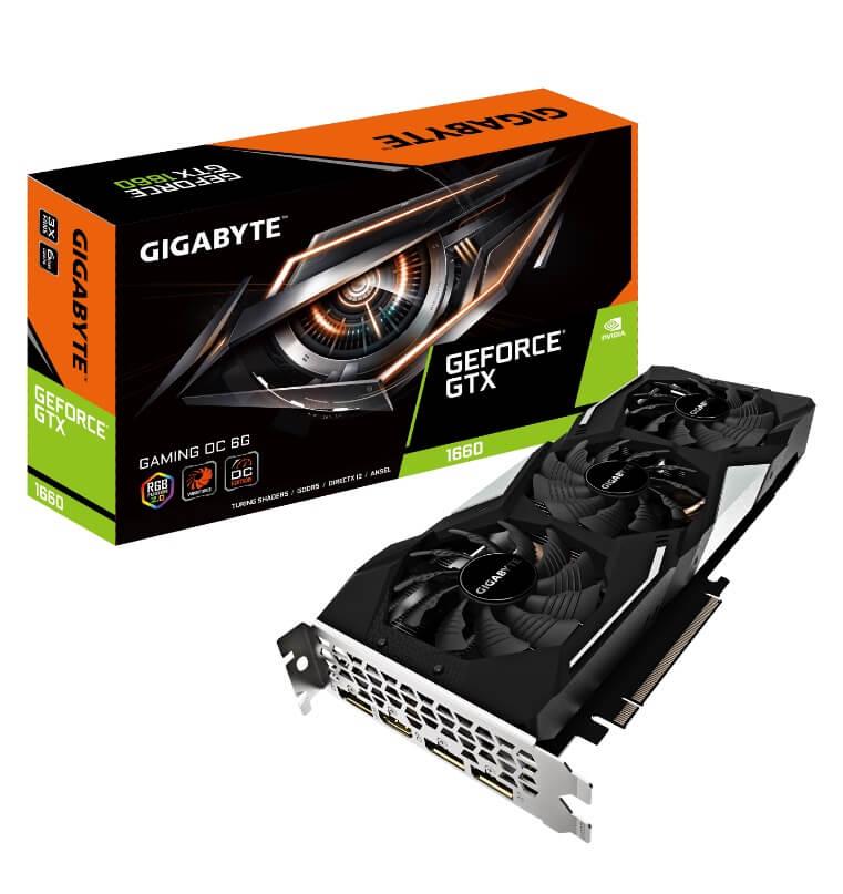 NP: GIGABYTE anuncia las tarjetas gráficas de la serie GeForce GTX 1660