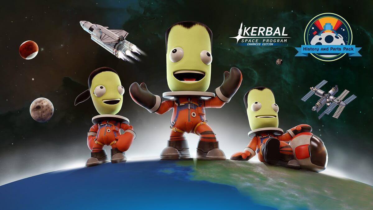 NP: Ya está disponible History and Parts Pack de Kerbal Space Program: Enhanced Edition para consolas