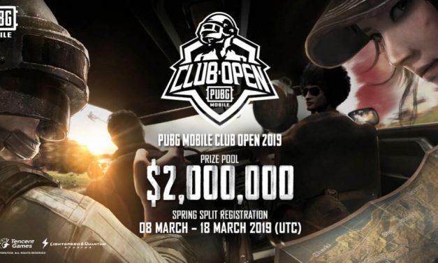"""NP: La competición """"PUBG MOBILE Club Open 2019"""" comienza en marzo y contará con dos millones de dólares en premios"""