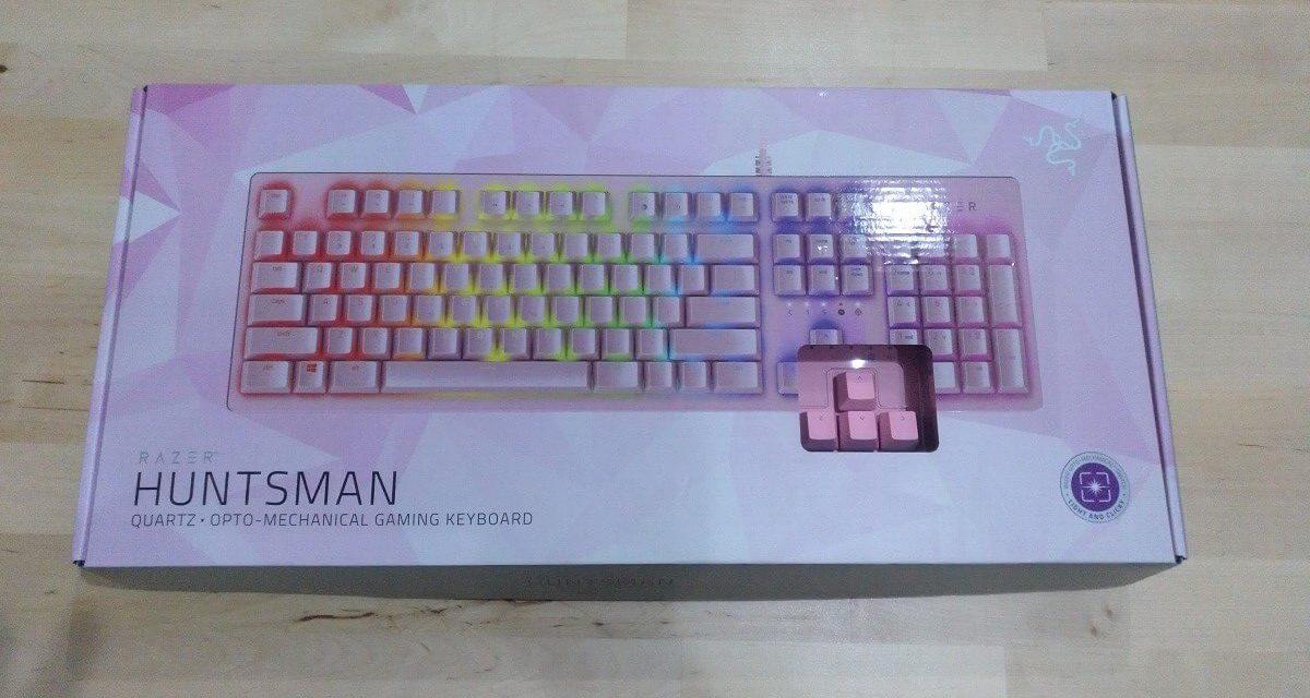 Review teclado Razer Huntsman Quartz Pink