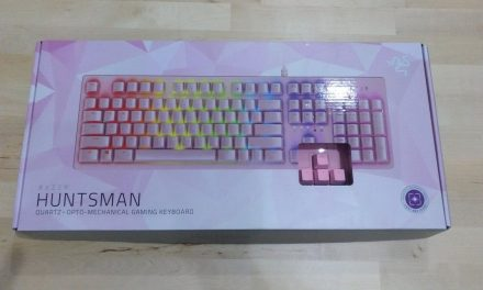 Review teclado Razer Huntsman Quartz Pink
