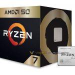 AMD Ryzen 7 2700X 50th Anniversary Special Edition se deja ver en un nuevo render