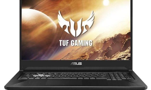 NP: ASUS presenta los portátiles TUF Gaming FX505 y FX705 equipados con procesadores AMD y gráficas NVIDIA GeForce
