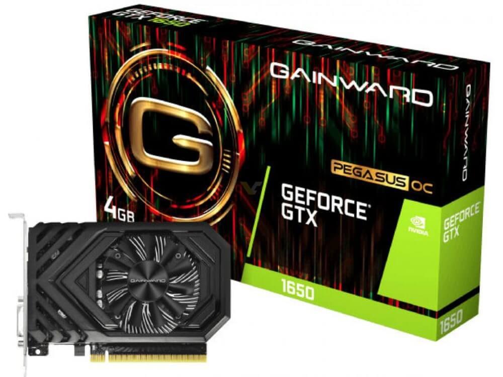 GAINWARD y PALIT GeForce GTX 1650 avistadas