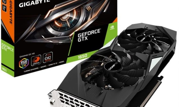 NP: GIGABYTE presenta las tarjetas gráficas de la serie GeForce GTX 1650