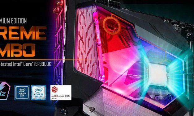 NP: GIGABYTE lanza Z390 AORUS XTREME WATERFORCE 5G Premium Edition Bundle