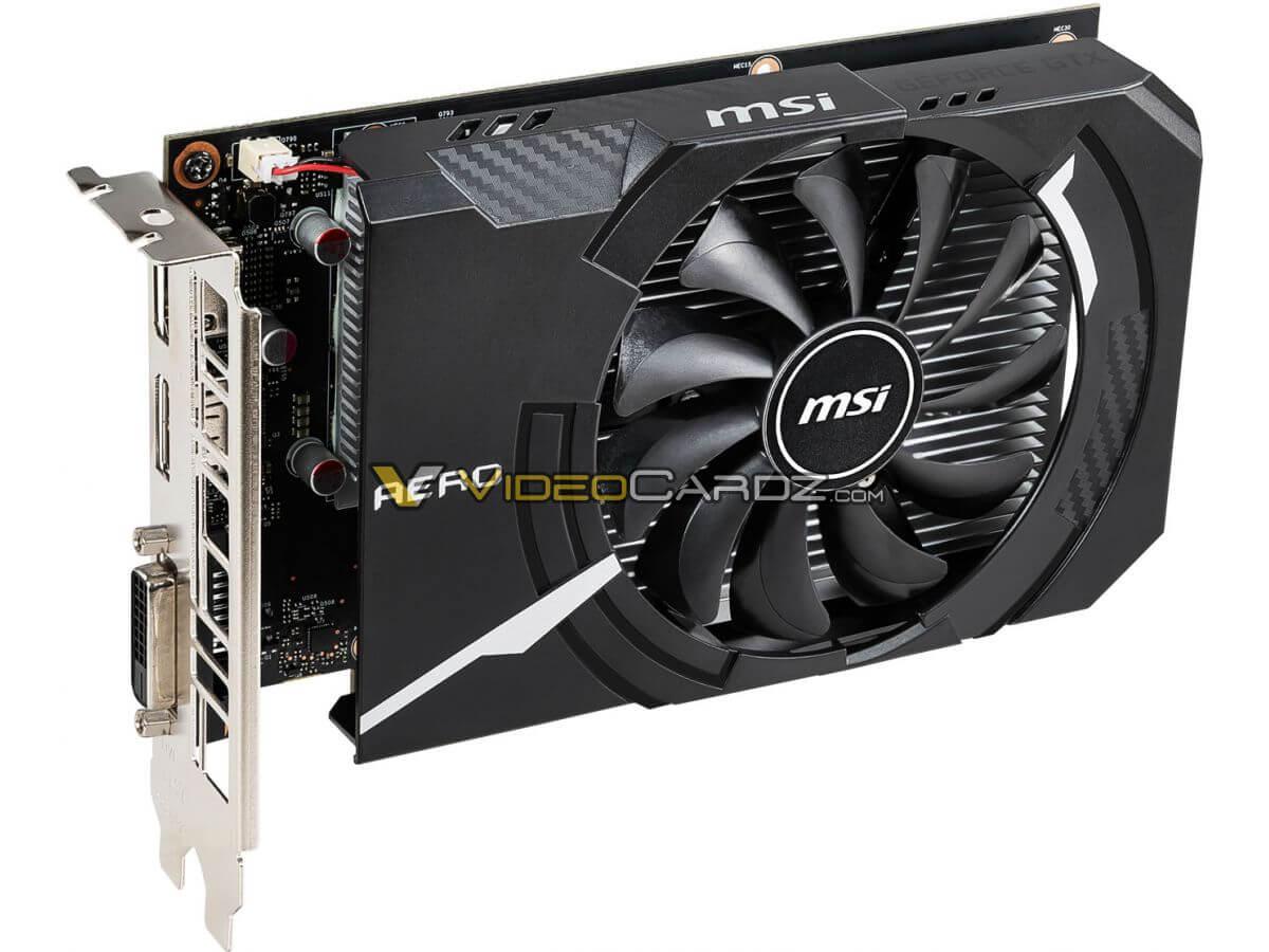 ASUS, MSI, Gigabyte y Zotac GeForce GTX 1650 avistadas antes de su presentación