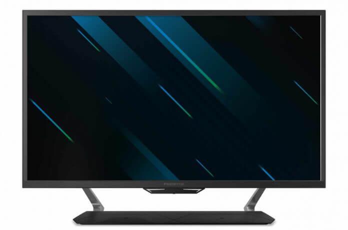 """Acer Predator CG437KP anunciado: 43"""" VA, 144 Hz, Adaptive Sync y HDR10"""