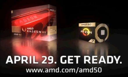 AMD Radeon VII 50th Anniversary Edition también aparece en escena