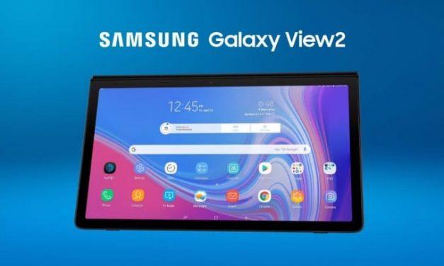 Samsung Galaxy View 2: Tablet de 17,3″ con SoC Exynos 7884, 3 GB de RAM y 64 GB de almacenamiento por 740 dólares
