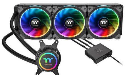 Thermaltake lanza su sistema de refrigeración líquida Floe Riing RGB 360 TR4 Edition