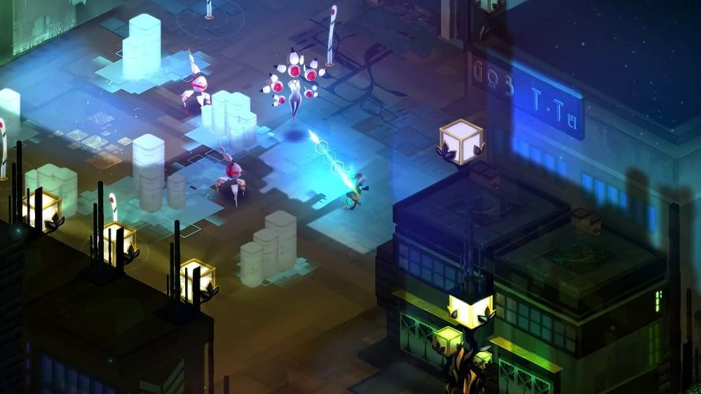 Transistor disponible de forma gratuita en Epic Games ...