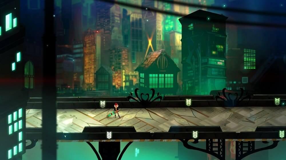 Transistor disponible de forma gratuita en Epic Games Store