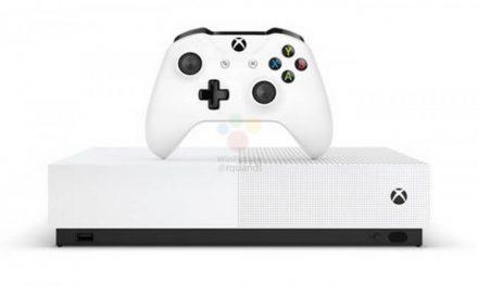 La Xbox One S All-Digital se pondrá a la venta el 7 de mayo bajo un precio de 230 euros