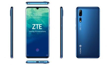 El ZTE Axon 10 Pro 5G se pondrá a la venta el 7 de mayo
