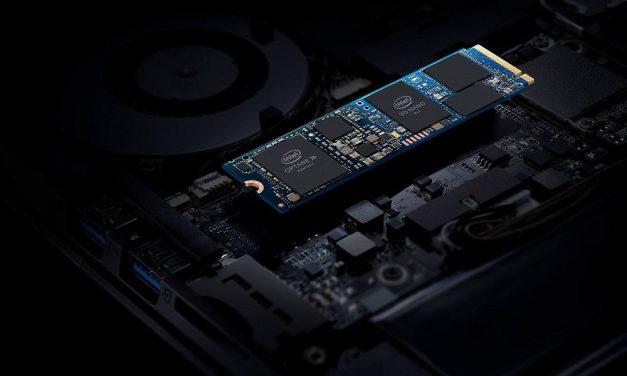 NP: Las tecnologías Intel Optane e Intel QLC NAND combinadas en una única unidad