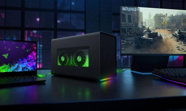 NP: Razer potencia los portátiles Windows Y MacBooks con el nuevo Core X Chroma