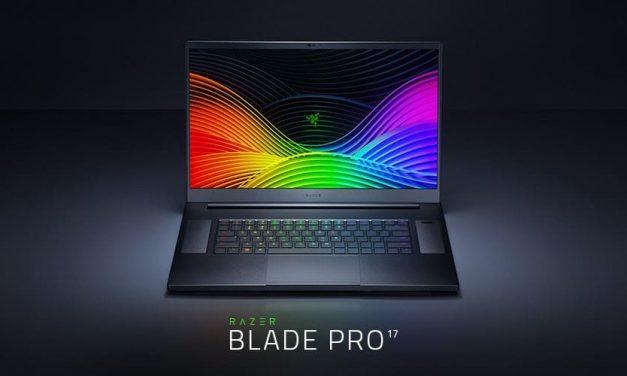NP: El nuevo portátil Razer Blade Pro 17 está diseñado para dominar