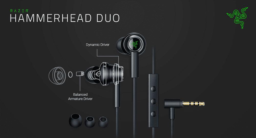 NP: Razer Hammerhead Duo proporciona tecnología de doble controlador para el entretenimiento móvil
