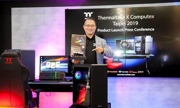 NP: Thermaltake Level 20 RGB BattleStation Gaming Desk & memoria TOUGHRAM RGB DDR4 lanzamiento