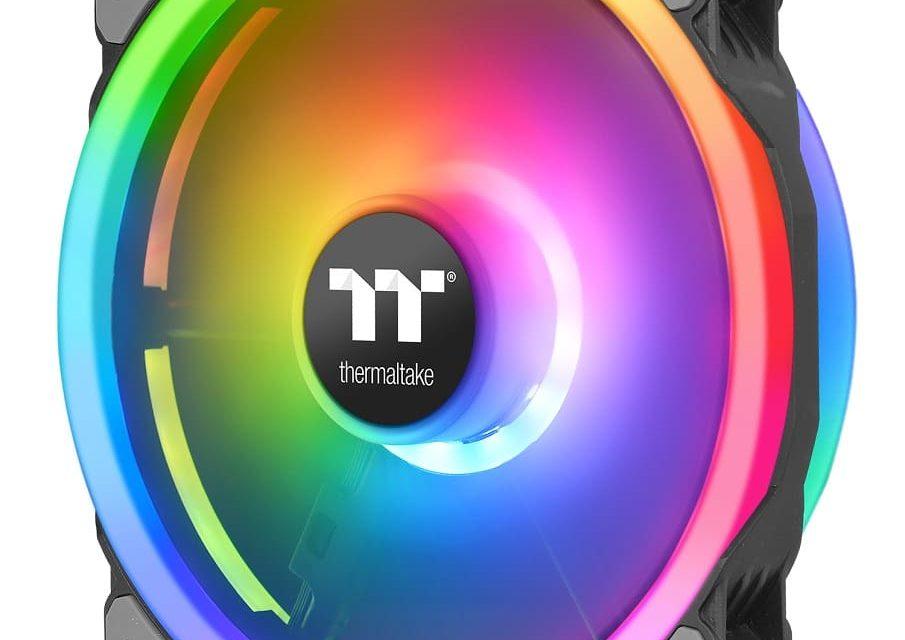 NP: Thermaltake lanza el ventilador para torre Riing Trio 20 RGB TT Premium Edition