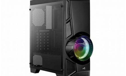 Aerocool lanza su nueva y económica torre AeroEngine RGB Tempered Glass