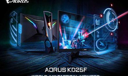 NP: Hecho para jugadores de FPS, ¡AORUS KD25F Tactical Monitor Lanzado!