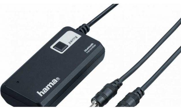 NP: Hama presenta el Transmisor Bluetooth Twin para experiencias de audio sin cables
