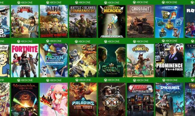 NP: Los mejores Free2Play con Xbox One y Xbox Live Gold