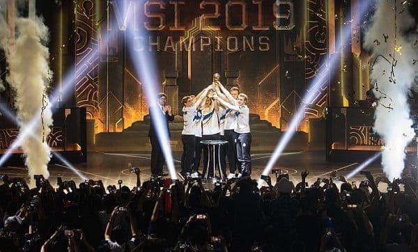NP: G2 Esports hace historia tras ganar el MSI 2019