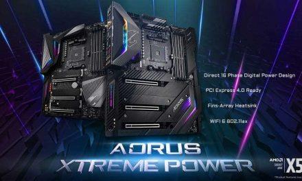 NP: GIGABYTE avanza a PCIe 4.0 con las placas base AORUS X570