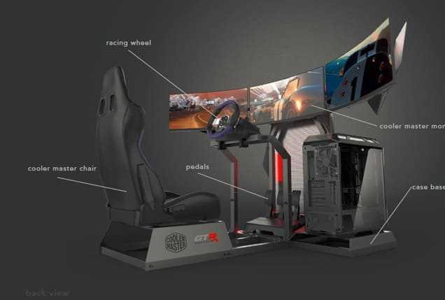 NP: Cooler Master anuncia su colaboración con GTR Simulator