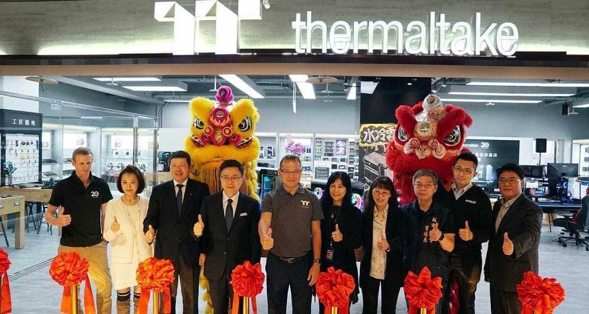 NP: Thermaltake Liquid Cooling Gaming System Flagship Store gran apertura en Taipei, Taiwán