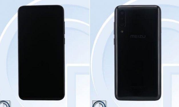 Meizu 16Xs se deja ver por TENAA revelando sus especificaciones
