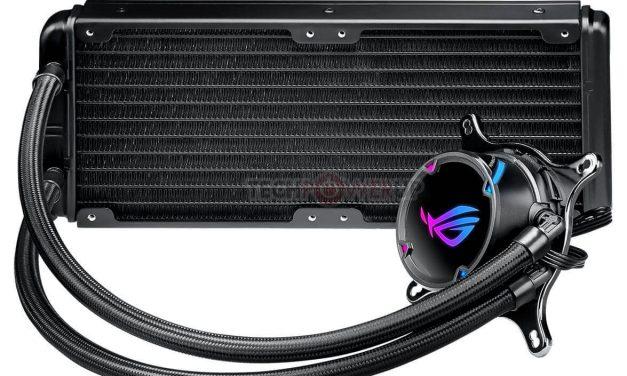ASUS lanza sus nuevos sistemas de refrigeración líquida ROG Strix LC 120 y Strix LC 240