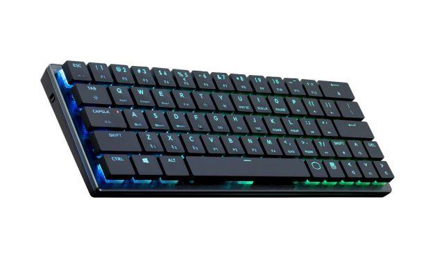 NP: Cooler Master lanza su primer teclado mecánico Bluetooth de tamaño reducido
