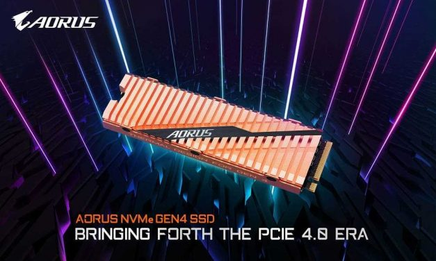NP: GIGABYTE lanza el SSD AORUS NVMe Gen4 que trae la era PCIe 4.0
