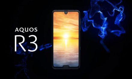 Sharp Aquos R3 anunciado: Nuevo buque insignia con SoC Snapdragon 855, 6 GB de RAM y doble notch
