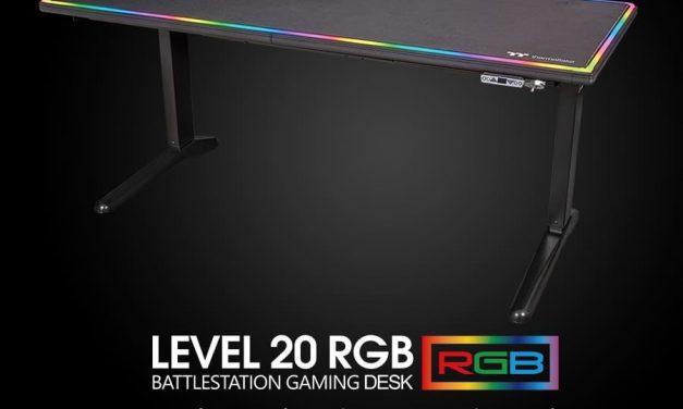 NP: Thermaltake Level 20 RGB BattleStation Gaming Desk
