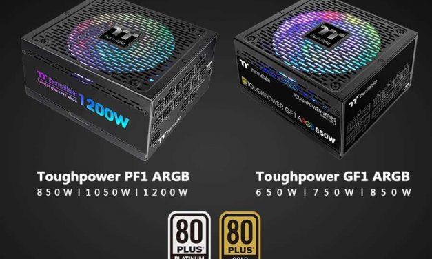 NP: Thermaltake nueva fuente de alimentación Toughpower PF1/GF1 ARGB