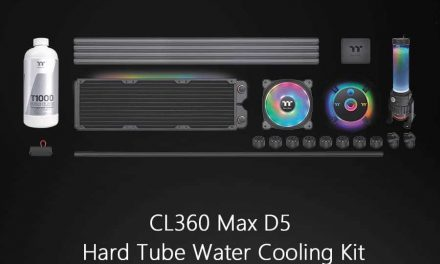 NP: Thermaltake Pacific CL360 Max D5 Hard Tube Water Cooling Kit