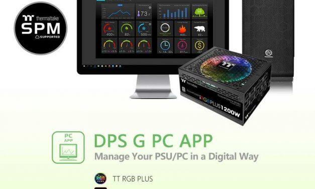 NP: Thermaltake actualiza la aplicación DPS G