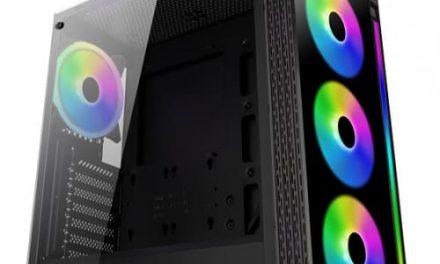 XIGMATEK lanza su nueva, espaciosa y elegante torre Poseidon RGB