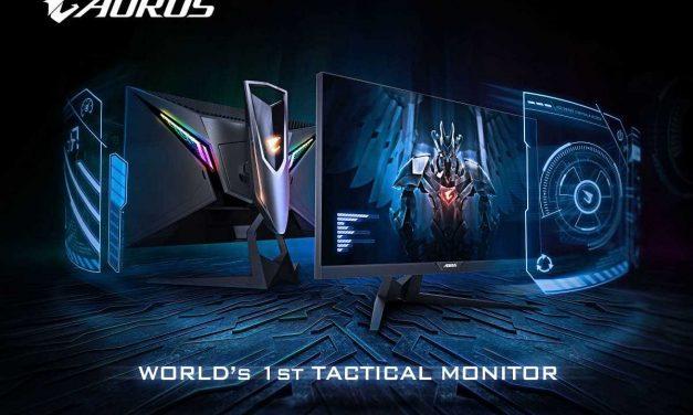 NP: El monitor táctico AORUS AD27QD ganó el premio Computex BC por el mejor diseño