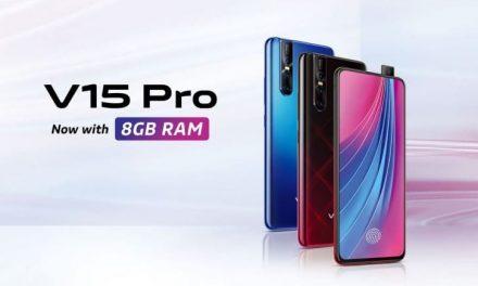 Vivo lanza en la India la variante V15 Aqua Blue y V15 Pro con 8 GB de RAM