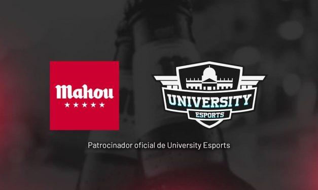 NP: Mahou Cinco Estrellas amplía su presencia en los eSports con el patrocinio de la liga  University Esports